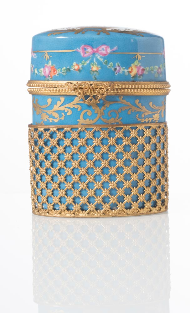 Porta tabacco in porcellana le tallec paris - Vaso porta tabacco ...